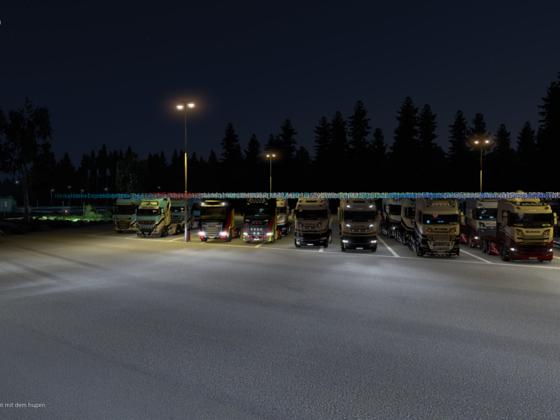 Convoi der Raven Logistic