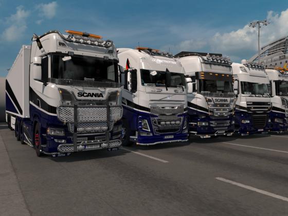 Trucker Crew Express Konvoi